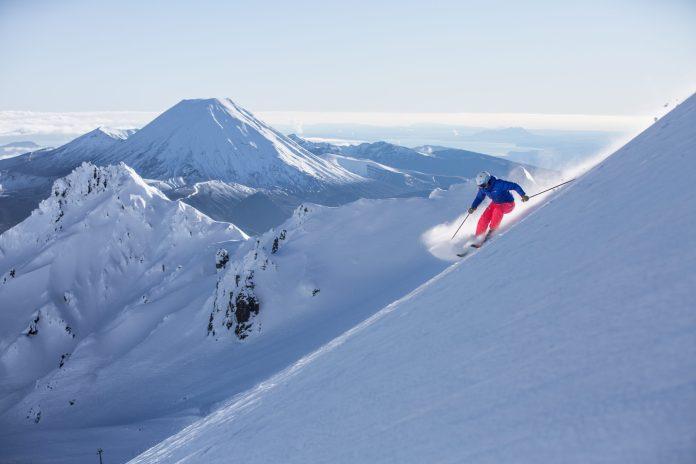 Whakapapa, New Zealand, skiing