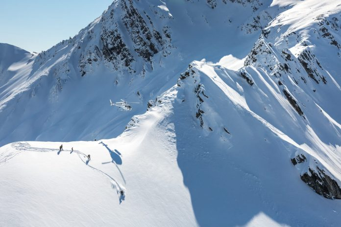 heli skiing, New Zealand, southern lakes