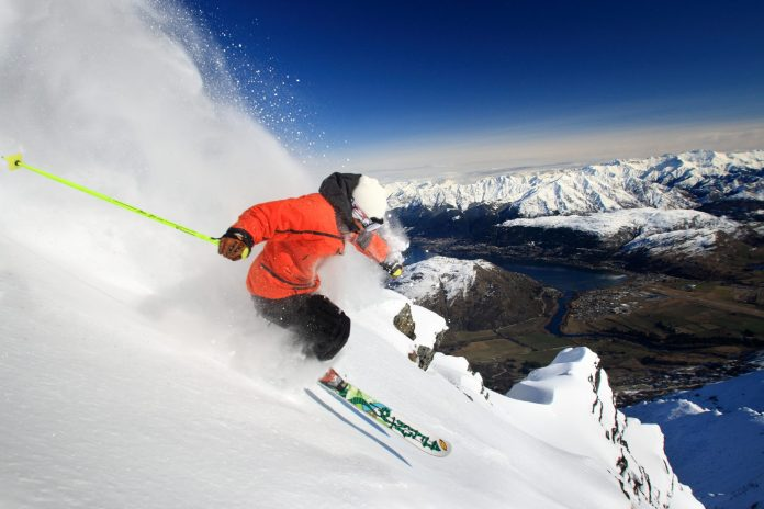skiing, remarkables, New Zealand