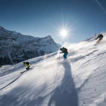 ski region grindelwald first