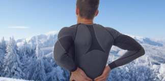 back pain skiing