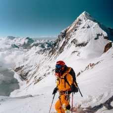 Hilaree Nelson in the Himalaya