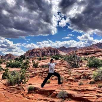 Red Mountain Resort yoga Utah
