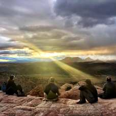 Sunset hike to the Bowl in St George, Utah. Photo credit: Rachael Oakes-Ash