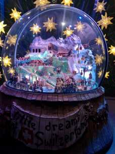 And this giant snowglobe!