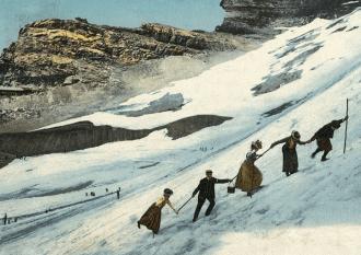 Ye olde days of Grindelwald. Photo: Jungfrau Tourism