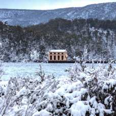 Pumphouse Point, Tasmania. Photo credit: Pumphouse Point