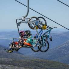 The easy way up at Thredbo. Photo credit: Destination NSW