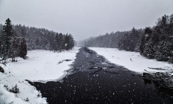 river in Algonquin Park, Ontario