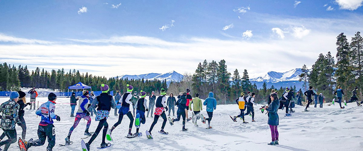 CMC Leadville snowshoe trails