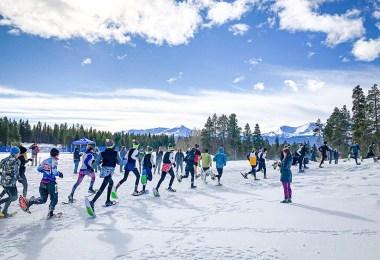 CMC Leadville snowshoe trails