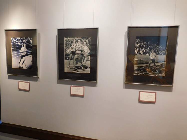 photos of Steve Prefontaine in Coos Art Museum