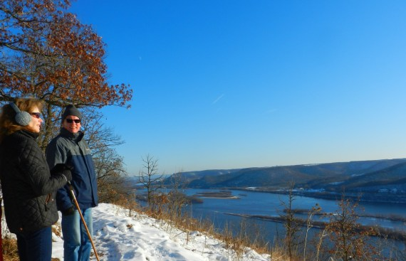 Brady's Bluff- Minnesota- Snowshoeing in Midwest