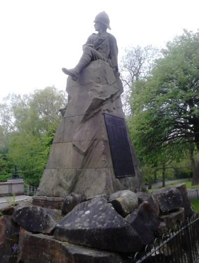 Highland Light Infantry Memorial - Glasgow
