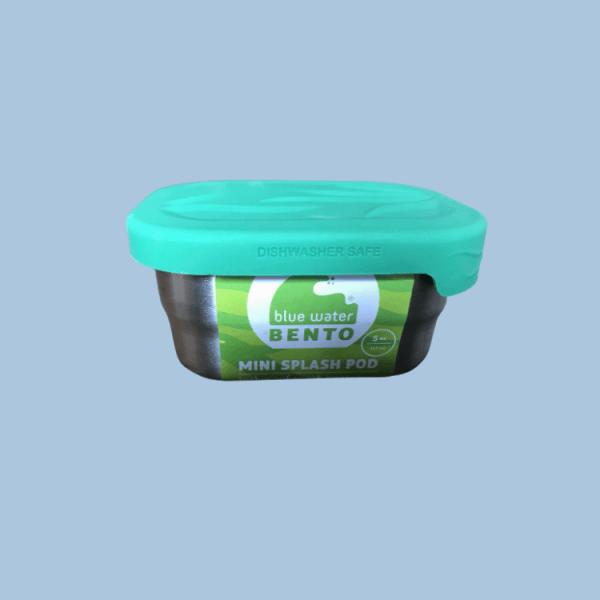 product photo with blue background of Mini Splash Pod