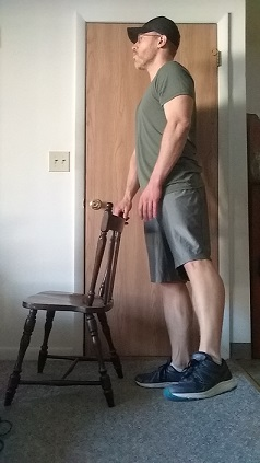side leg raise demonstration