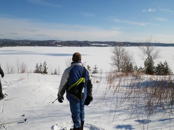 views along St. John River, NB