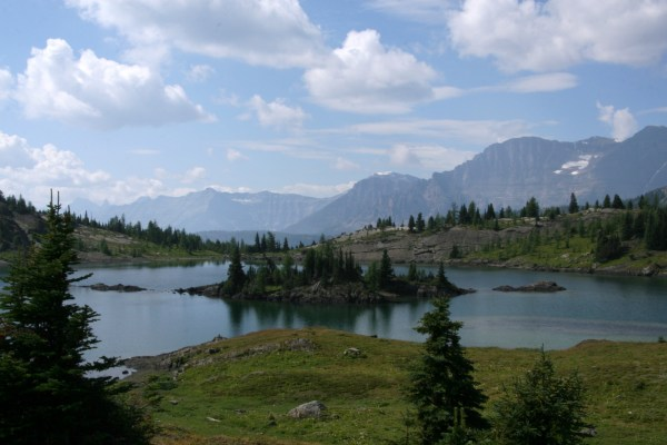 Scenery near Sunshine Village