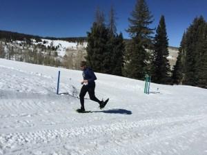 Beaver Creek Snowshoe Series. Kim Fuller