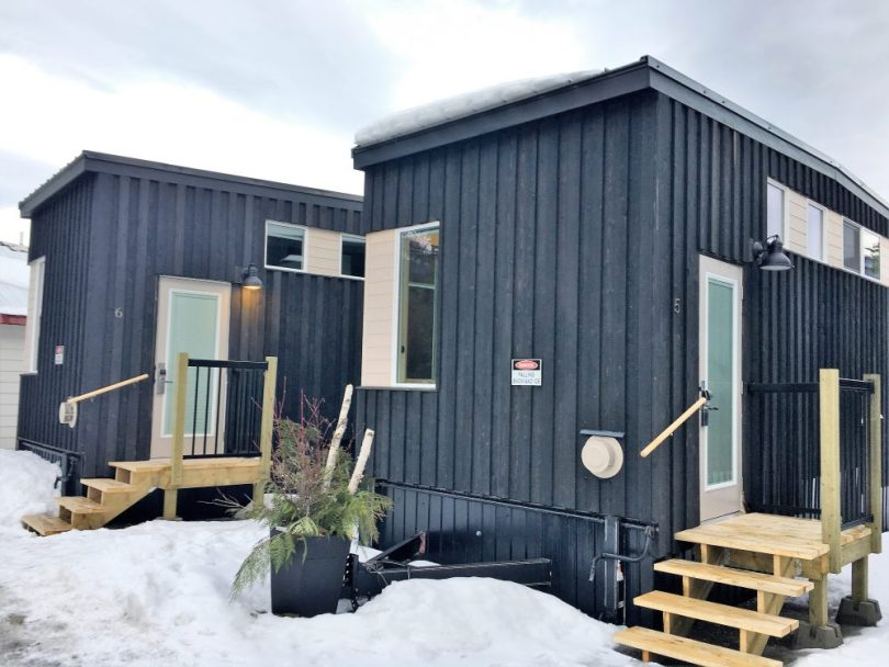 tiny home in Fernie BC