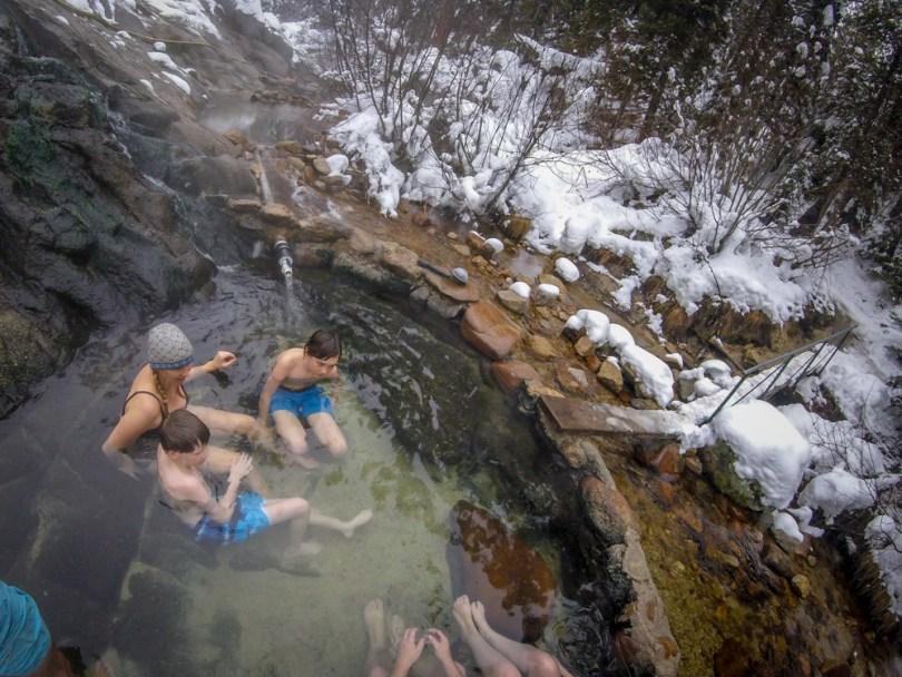 hot springs Idaho