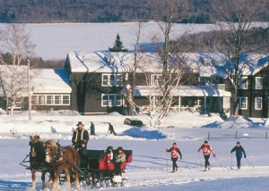 Sleigh rides and Nordic adventures at Mountain Top Inn.