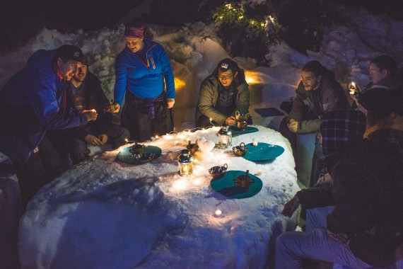 Mt Seymour Fondue Tour
