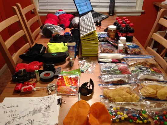 Here's how to finish Tuscobia: organization though looking at all this food can make one hungry.