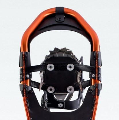 toe crampons of Atlas Apex MTN snowshoes