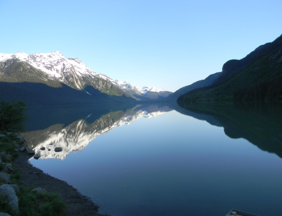 Early Spring on Chilkoot Lake
