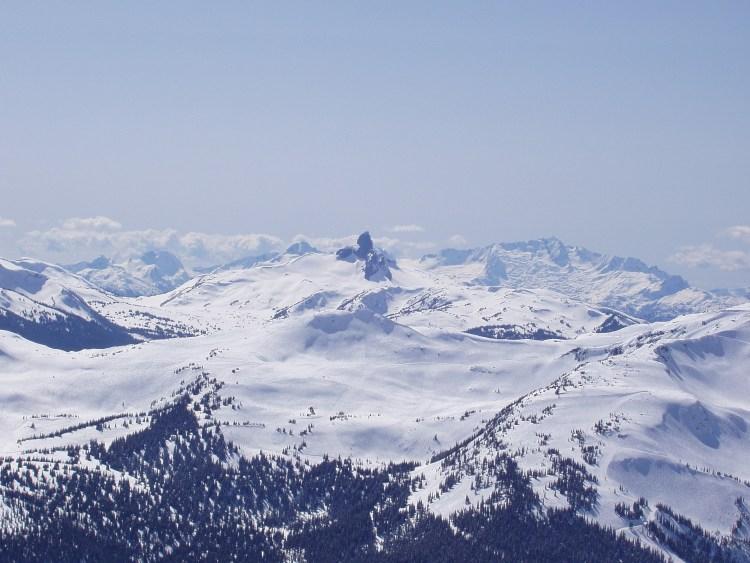 snowshoeing near Vancouver: mountains near Whistler