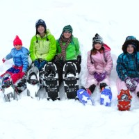 Start 'em Young! Snowshoes for Kids Two-to-Teens