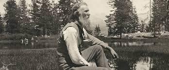 The great American naturalist John Muir (1838-1914).