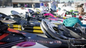 Plenty of loaner-snowshoes available at the 2016 Dion USSSA National Championships