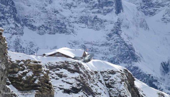 The restaurant and highest cable car station at Grindelwald First