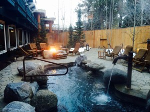 The Cove Spa at Shore Lodge hotel.