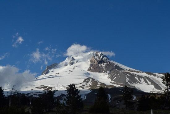 A glimpse of Mt. Hood