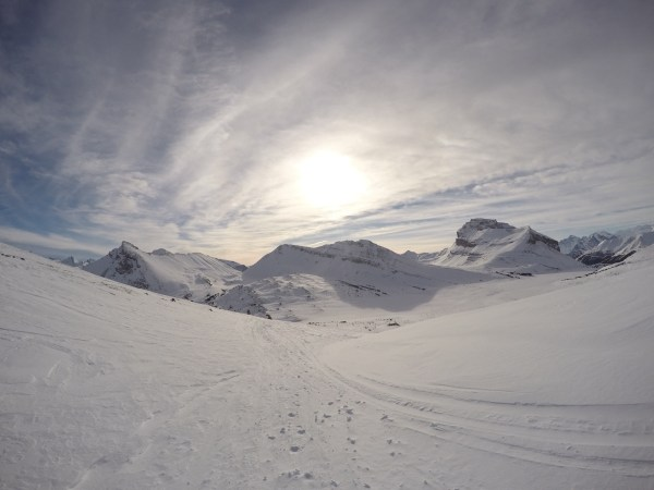 This is where I want to be snowshoeing
