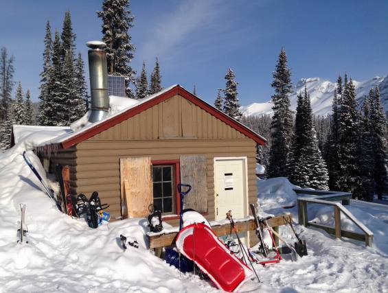 Backcountry Travel is possible year round with a bit of creativity and a warm cabin