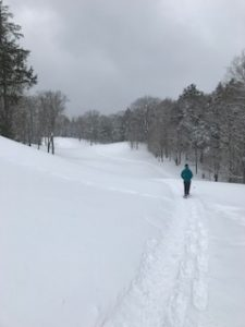 Lakewoods Resort Golf Course- Snowshoeing Near Home