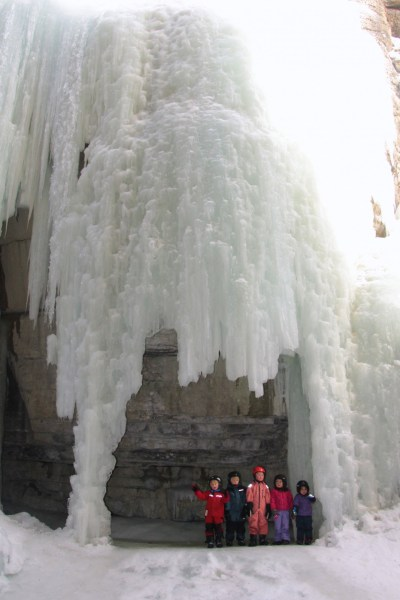 Ice caves and  the magical frozen world of Maligne Canyon