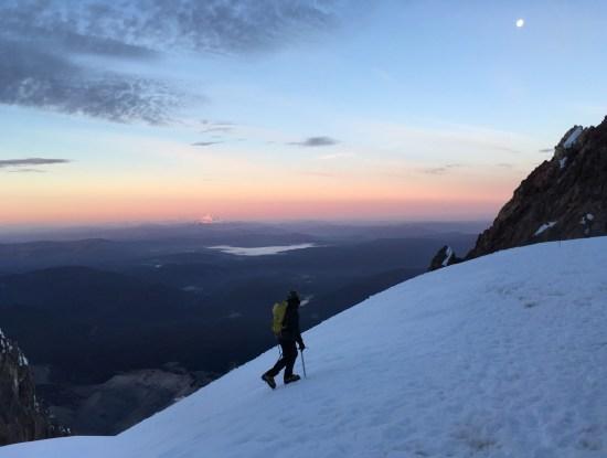 Sunrise on Mt. Hood