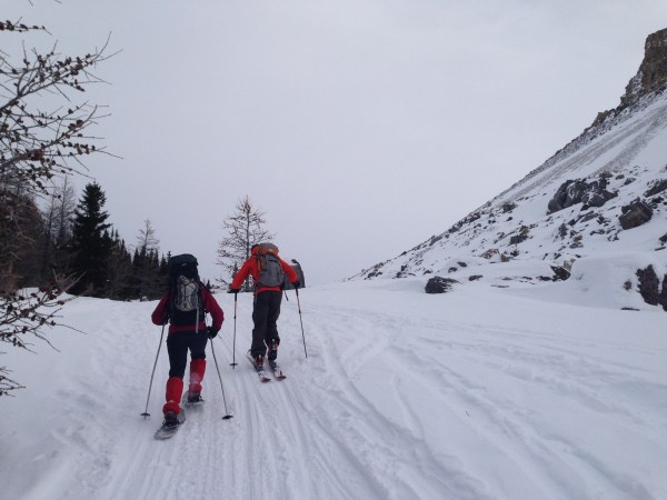 The climb up Boulder Pass