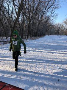 Mendota 5K 2018: Snowshoe Racing