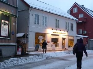 Tromso Outdoor in downtown Tromsø