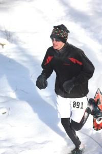 Men's 5k winner Andrew Studinski