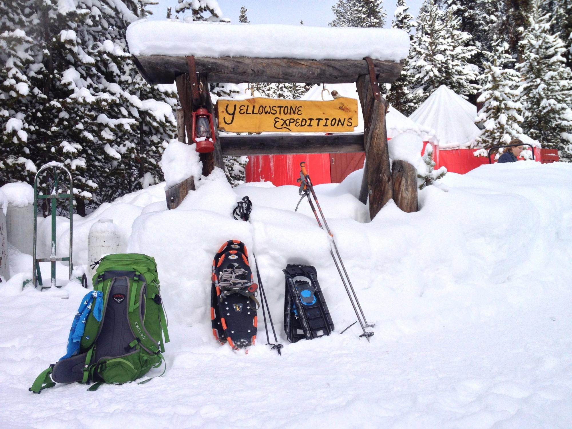Exploring Yellowstone's Winter Wonderland • Snowshoe Magazine