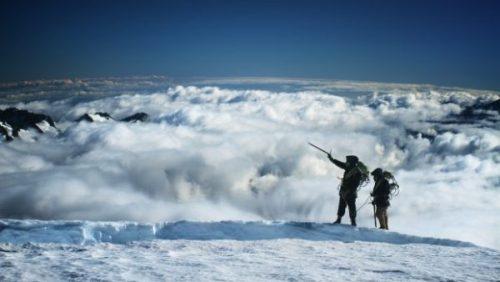 beyond the edge two men climbing everest