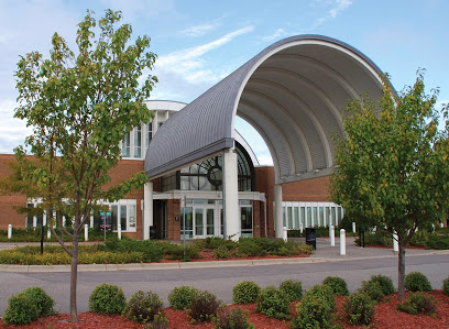 The state-of-the-art Eden Prairie, MN, library, one of 41 in the Hennepin County system encompassing the Minneapolis area.