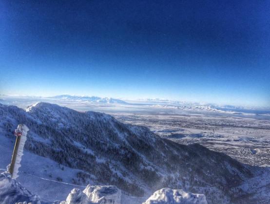 Wonderful views from Snowbasin Utah